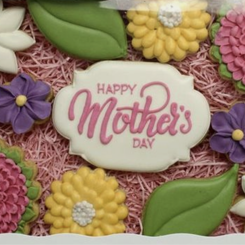 Mother's Day Cookie Decorating