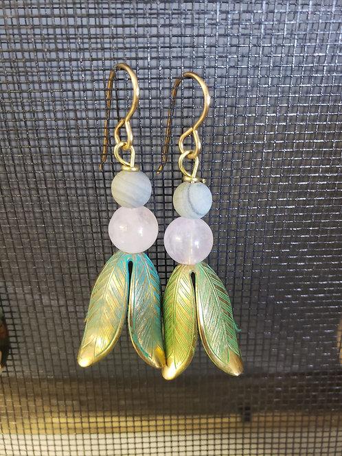 Diffuser Earrings - flowers