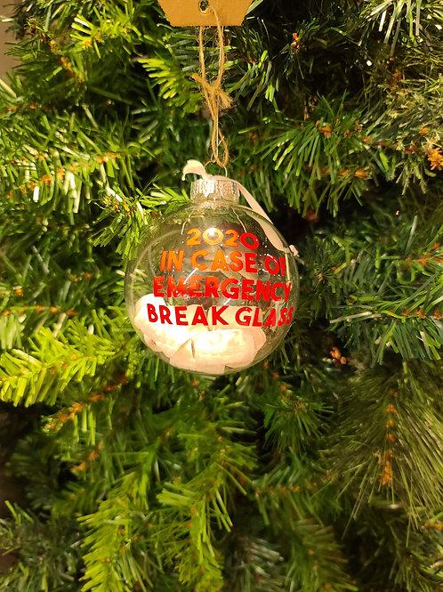 In Case of Emergency Ornament