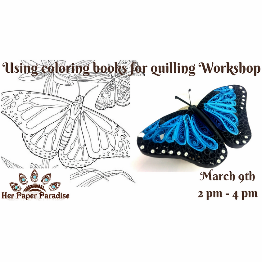 Quilling With Coloring Books HPP