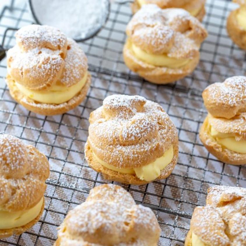 Cream Puffs baking class