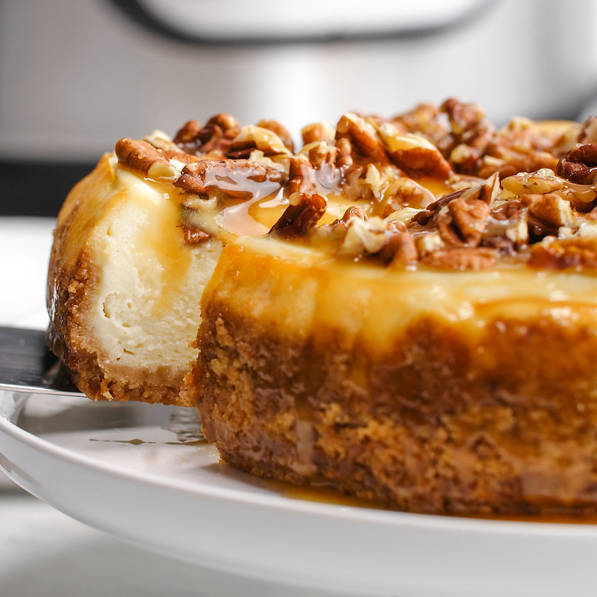 SOLD OUT - Holiday Cheesecake baking class