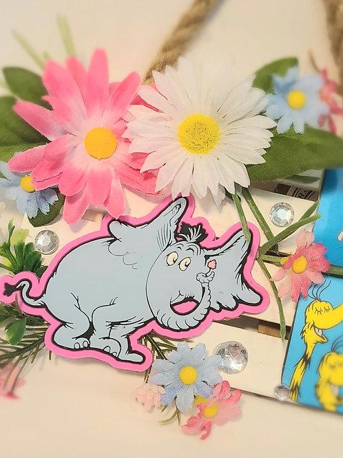 ADORABLE Horton/Dr. Seuss Hanging Art