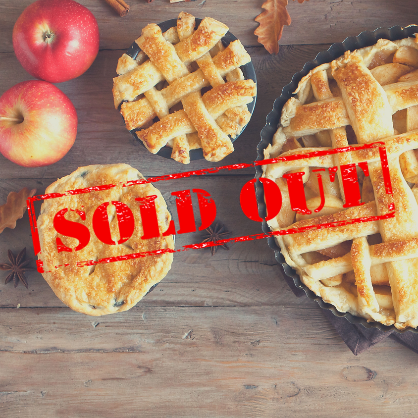 SOLD OUT - Pie Party - Baking Class