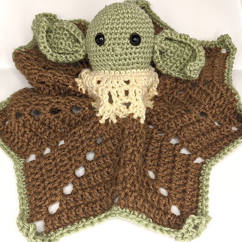 """The Child"" Crocheted Lovey"
