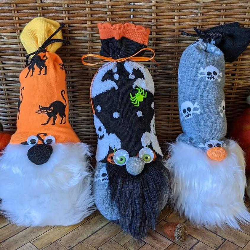 Halloween Sock Gnome