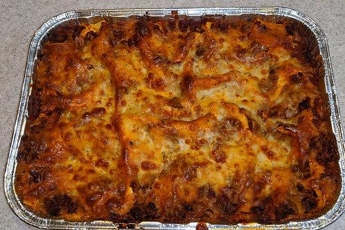 Meat Lasagna, 10-12 servings