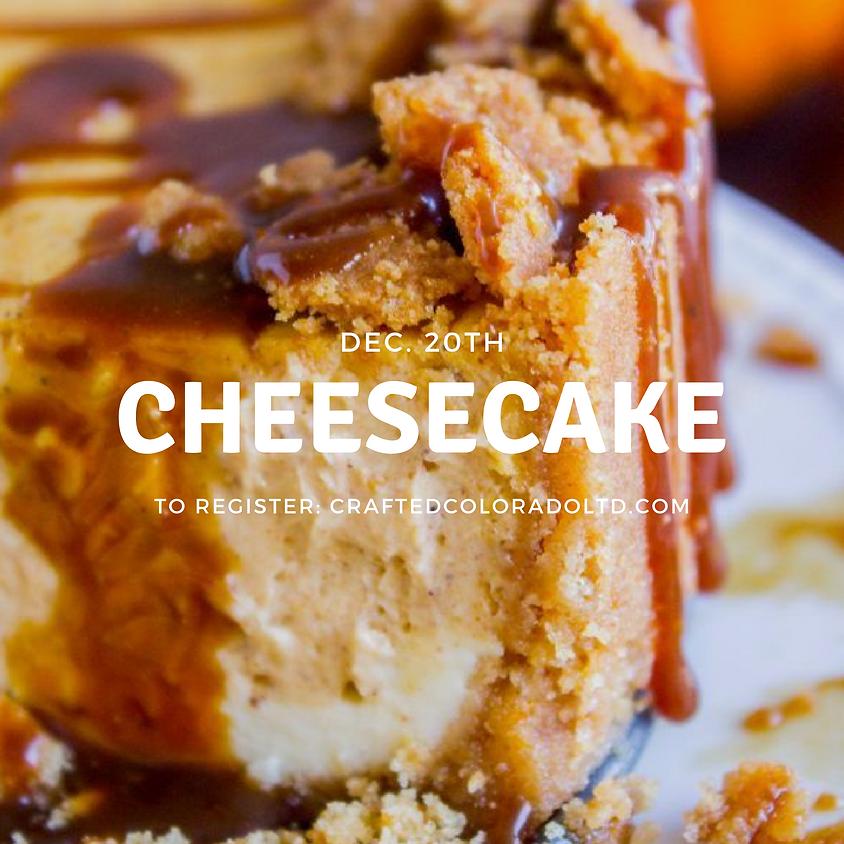Cheesecake Baking Class