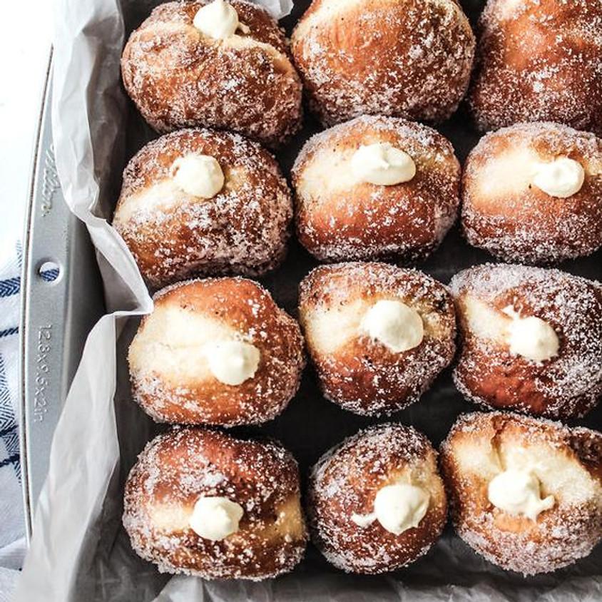 SOLD OUT - Brioche Doughnuts Baking Class