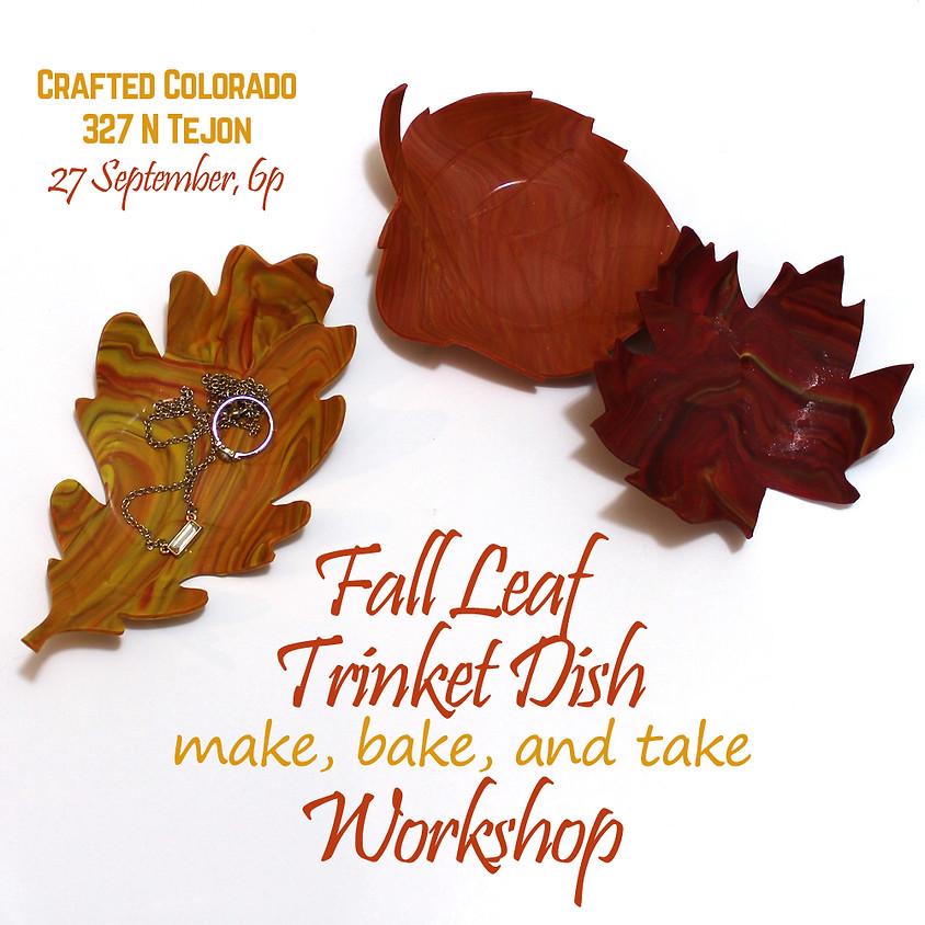 Fall Leaf Trinket Dish