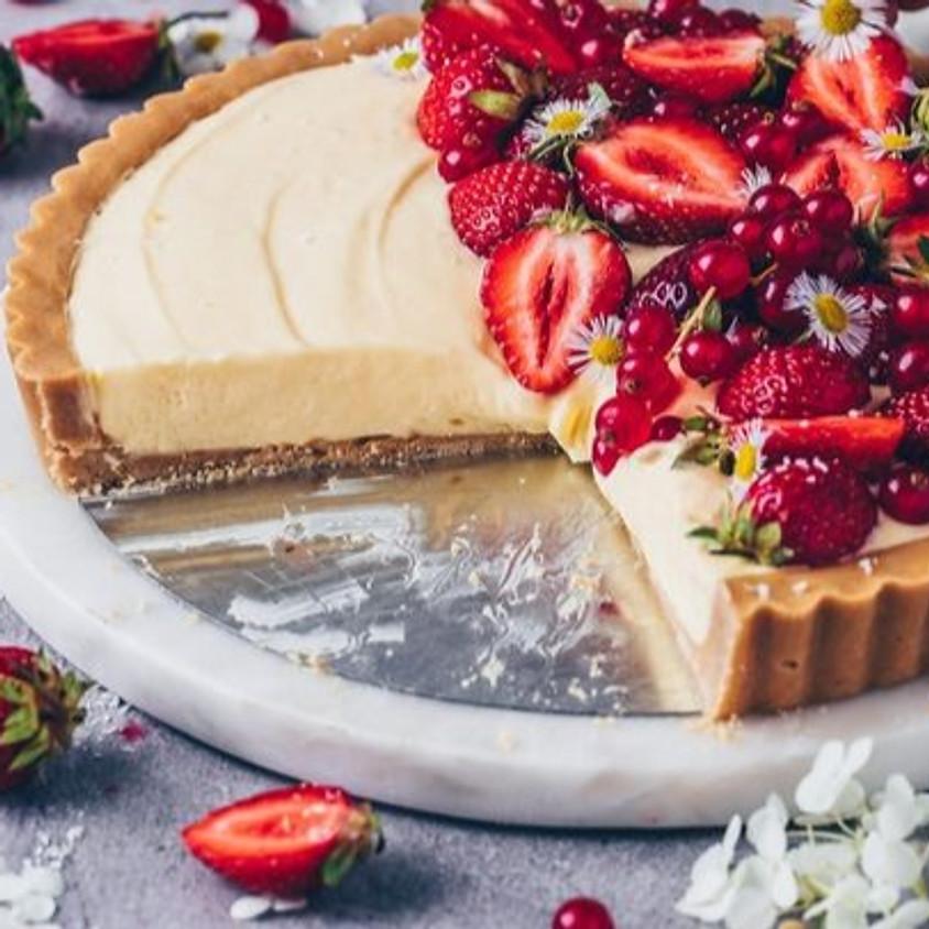 Vanilla Custard Tart baking class
