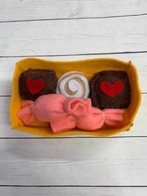 Felt Valentine Candy Assorment 3