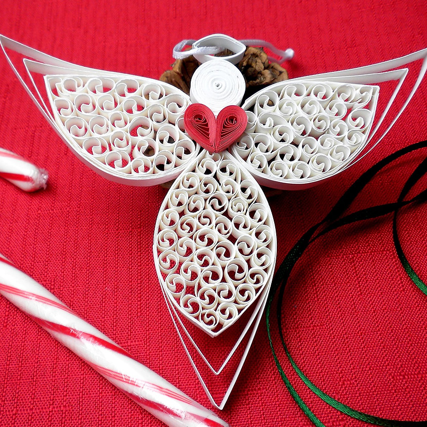 SOLD OUT - Christmas Angel Ornament Workshop