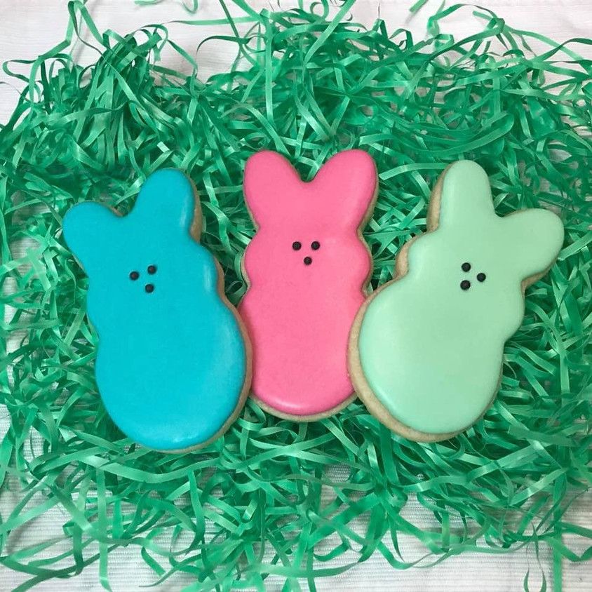 Easter Royal Icing Cookie Decorating