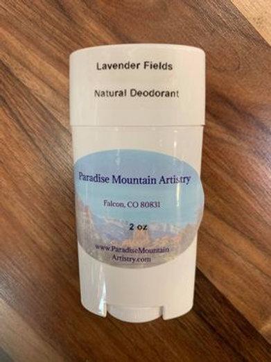 Natural Deodorant 2oz