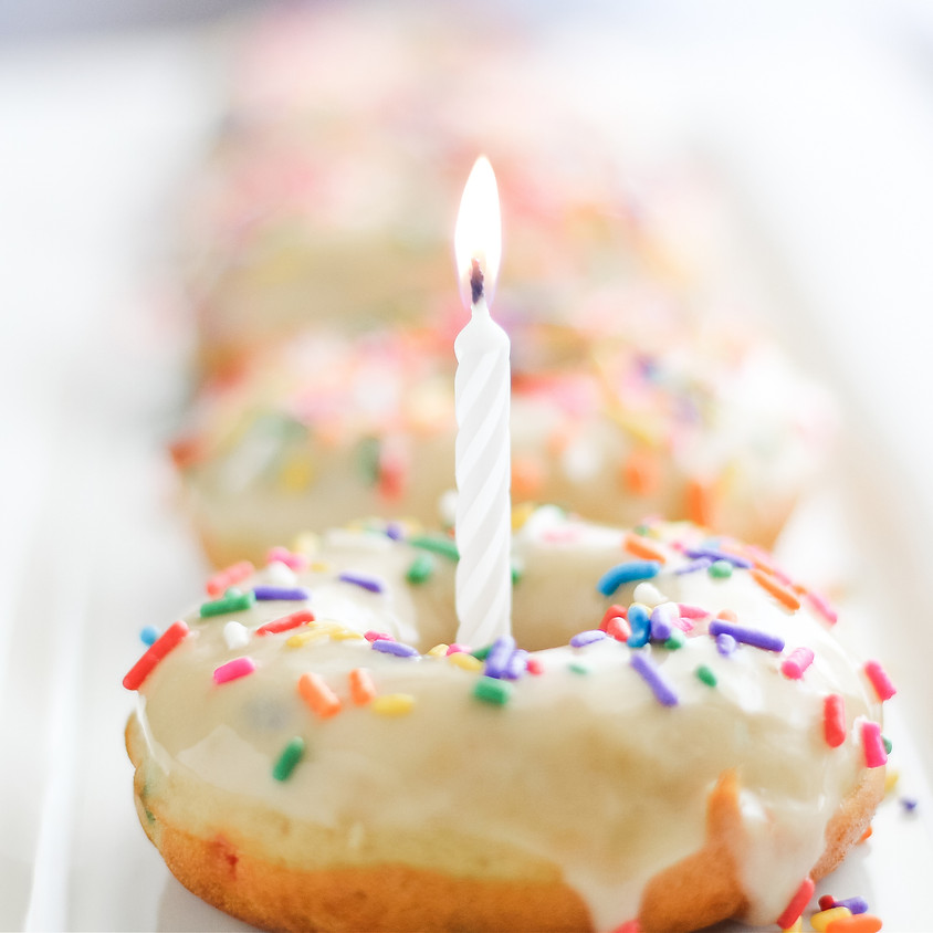 Birthday Cake Donuts Class