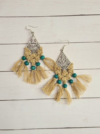 MACRAME Dangle Earrings