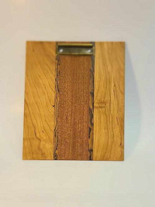 Handmade wooden CLIPBOARD