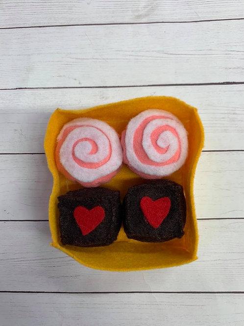 Felt Valentine Candy Assorment 1