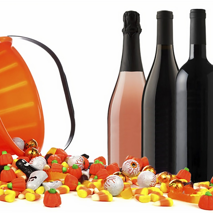 Halloween candy & wine pairing (21+ only)