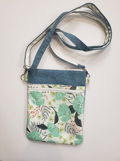 CROSSBODY PURSE-Plants