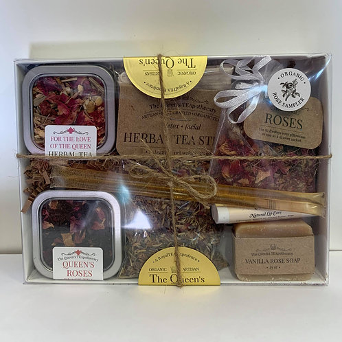 The Queen's TEApothecary TEA SAMPLER SET