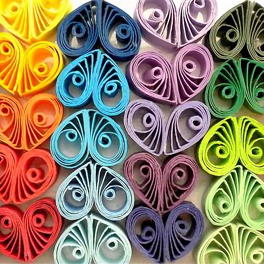 SOLD OUT - Quilling Heart Workshop