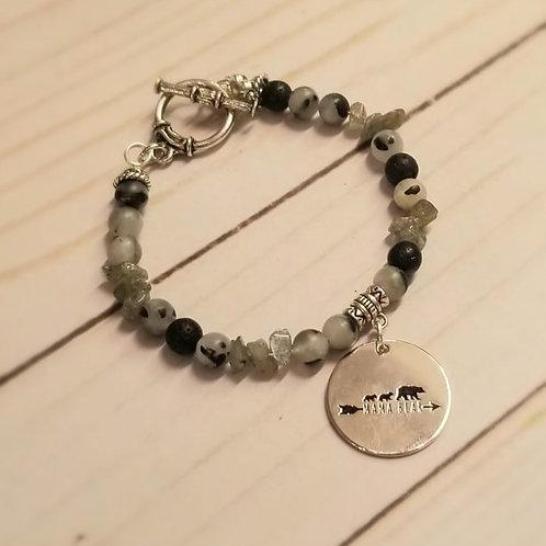 MAMA BEAR-essential oil bracelet
