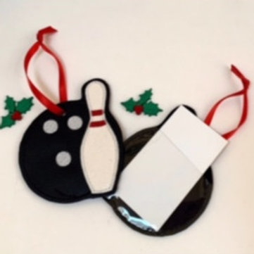 Gift Card Holder- Bowling