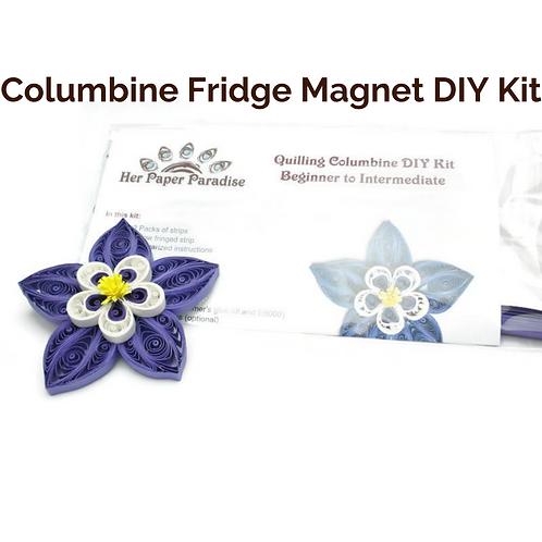 Columbine Fridge Magnet DIY Kit