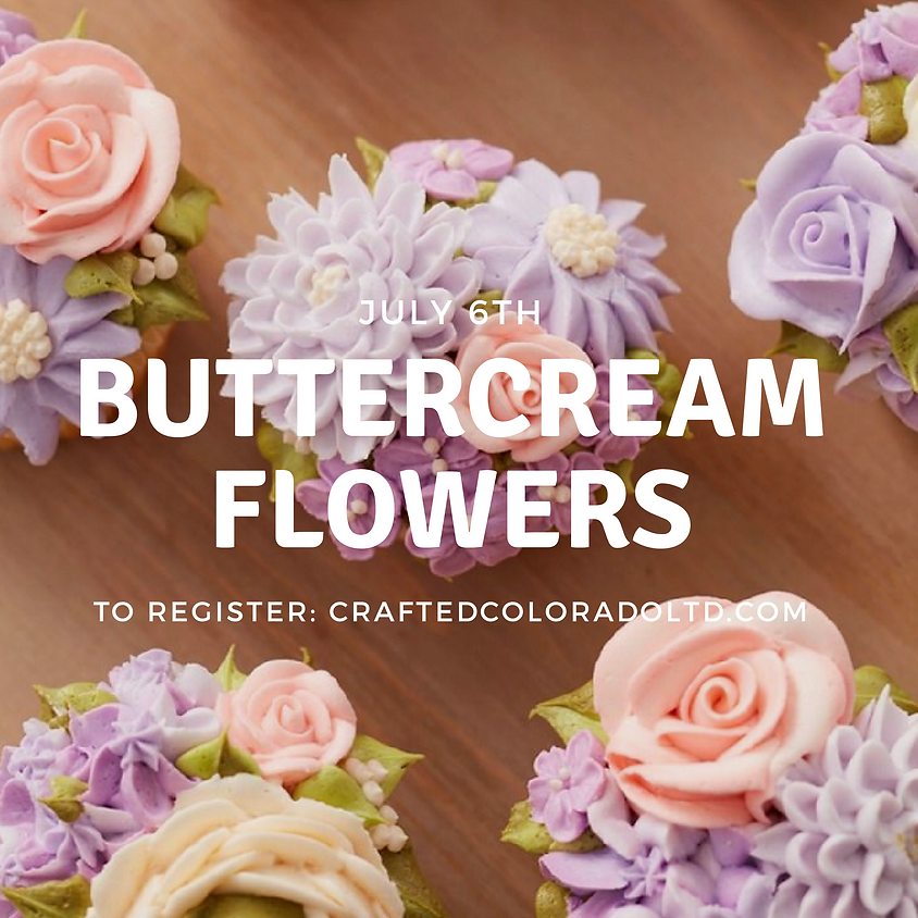 Buttercream Flowers workshop