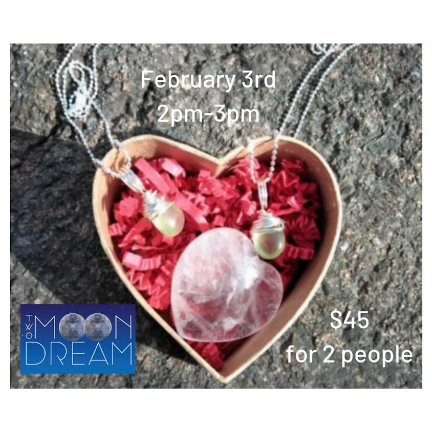 Valentine's Day Matching Jewelry Make and Take