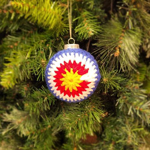 Colorado Ornaments Crocheted