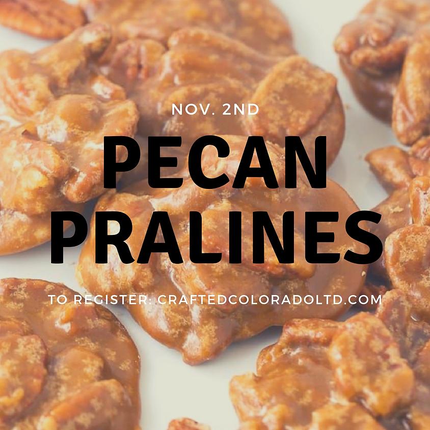 Pecan Pralines baking class