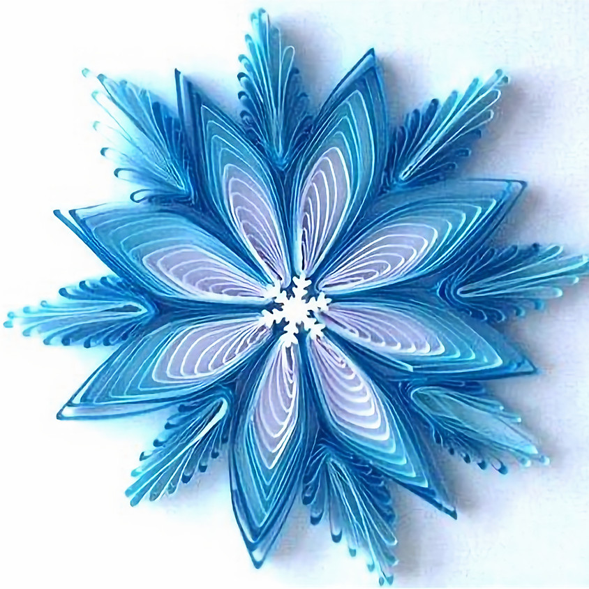 SOLD OUT - Snowflake Ornament Workshop