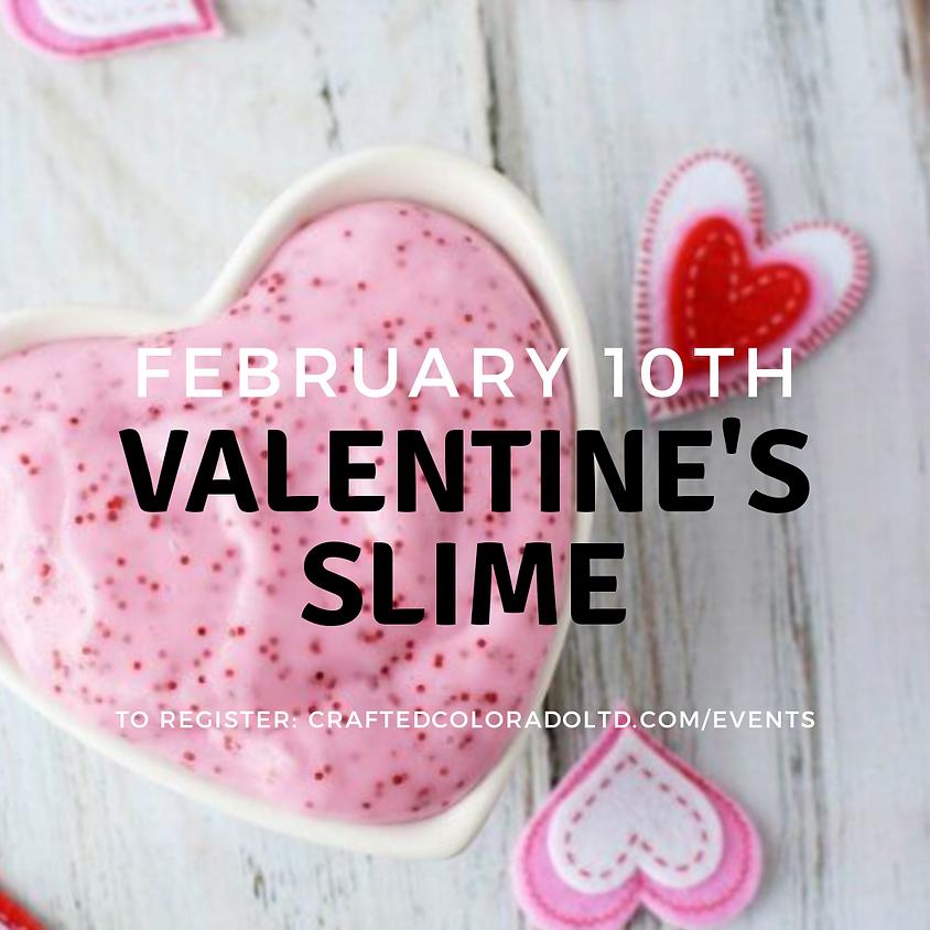 SLIME-y Valentines Workshop