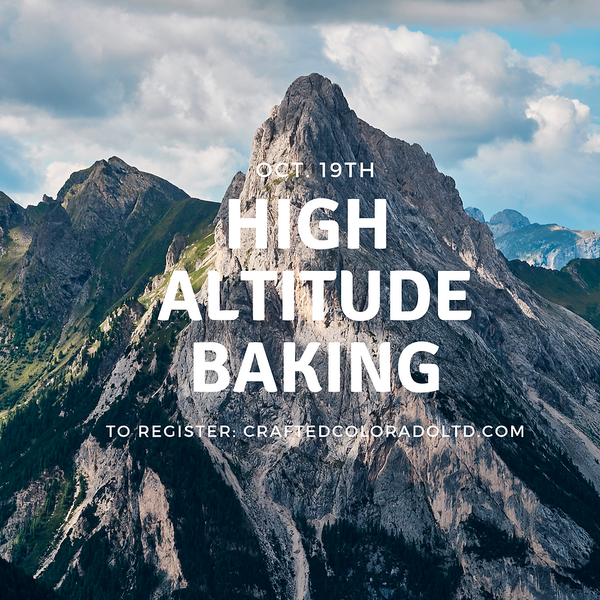 High Altitude Baking
