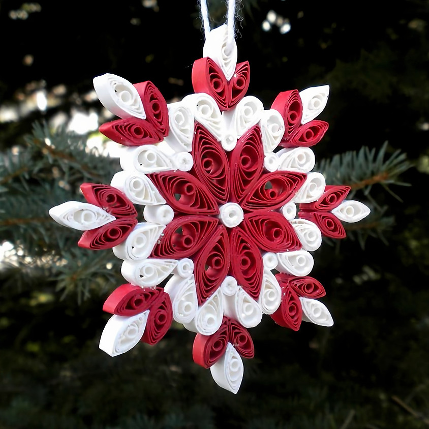 *SOLD OUT* Snowflake Ornament Workshop