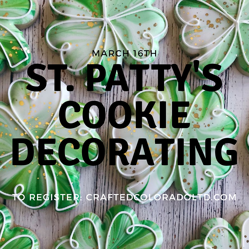 St. Patty's Day Cookie Decorating - drop in event for all ages