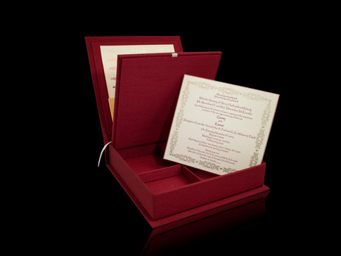 • Wedding Invitation Box