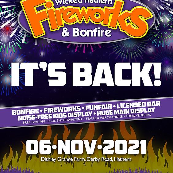 Wicked Hathern Fireworks & Bonfire