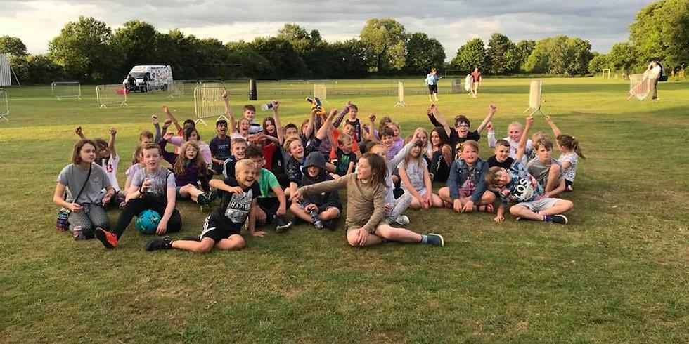 Big Week: Youth Club Goes Outdoors