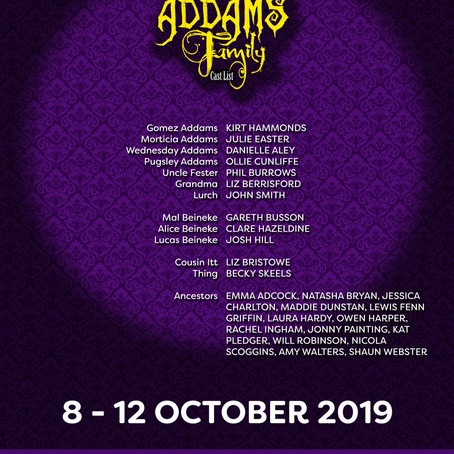 Addams Family cast announced