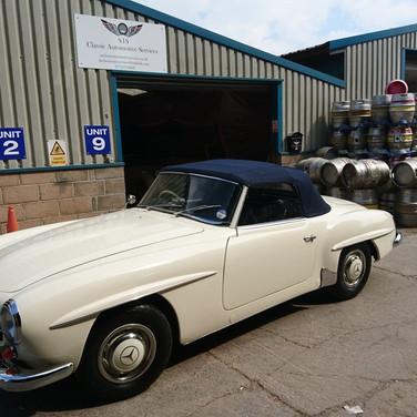 Mercedes Restoration 19TSL
