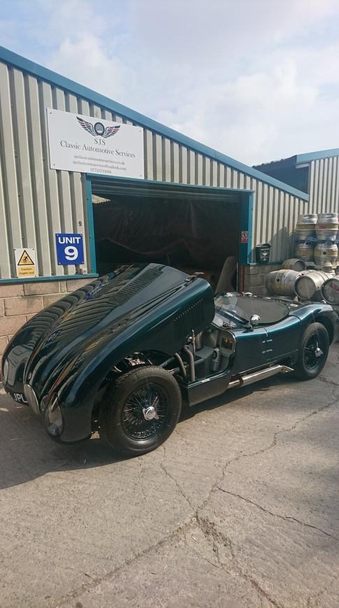 Jaguar C Type Restoration SJS Classic Automotive Services