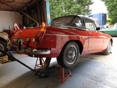 MGTD MGTF Austin Healey 3000 MGB SJS Classic Automotive Services