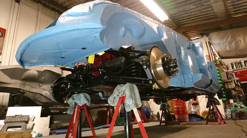 MGA Restoration SJS Classic Automotive Services