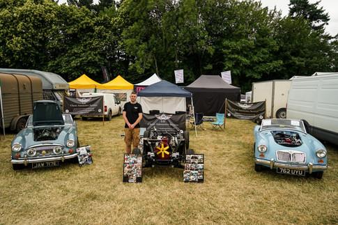 SJS Classic Automotive Services 2019 Powderham Castle Classic Vehicle Gathering