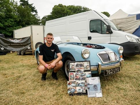 SJS Classic Automotive Services 2019 Powderham Castle Classic Vehicle Gathering98
