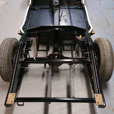 Chassis MGA Restoration